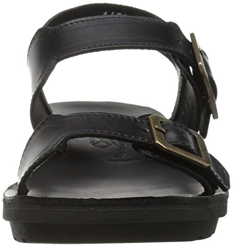 FLY London Womens Maro911fly Flat Sandal Black Brindle 4wduR4wU