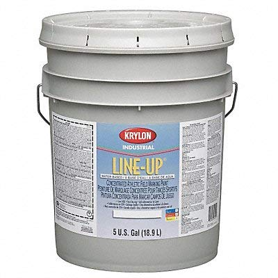 Krylon - K52130113-20 - Water-Base 1:1 Concentrated Athletic Field Marking Paint, Black, 5 gal.