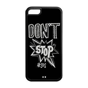 AMAF ? Accessories Custom Design 5 Seconds of Summer 5sos protection Cover Case For iPhone 5c [ 5 sos ]