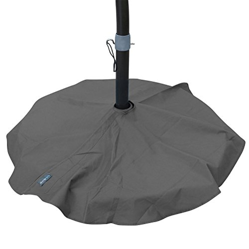 Cheap  Duraviva Outdoor Patio Umbrella Base Stand Weatherproof Layover Cover – Waterproof, Easy-to-Use..
