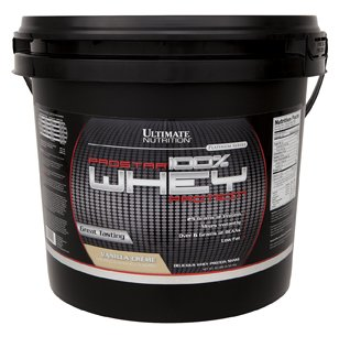 Prostar 100% Whey Protein (Vanilla, 10lb (4.53kg)) by Ultimate Nutrition