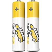 2-Pack RocketBus Replacement NiMH Rechargeable Battery for Panasonic BK-30AAABU Cordless Phone
