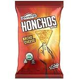 HONCHOS Tortilla Chips, Nacho Cheese, 5 Ounce , 12ct