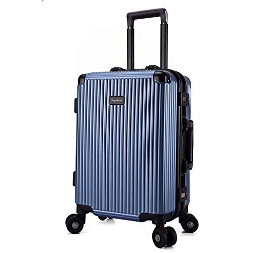 HX Suitcases with Wheels Travel Suitcase with TSA Lock and 4 Rotating Wheels Travel Trolley Suitcase (20 Inch / 22 Inch…