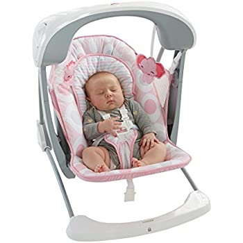 Amazon Com Fisher Price Cradle N Swing Coral Floral
