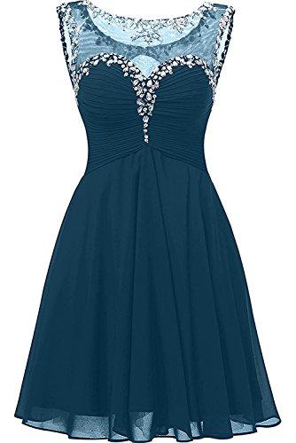 La Braut Dunkel Blau Suessig Ballkleider linie mini Rock Blau Himmel Abendkleider mia Cocktailkleider Abschlussballkleider A rB45q1rw