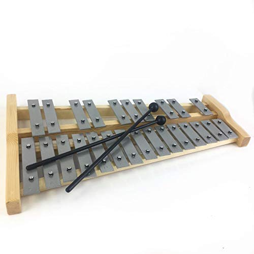 D25 wooden chromatic glockenspiel with heavy metal keys by Pro Kussion