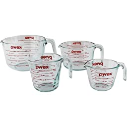 Crafted of durable with these Measuring Cup 4-piece Set