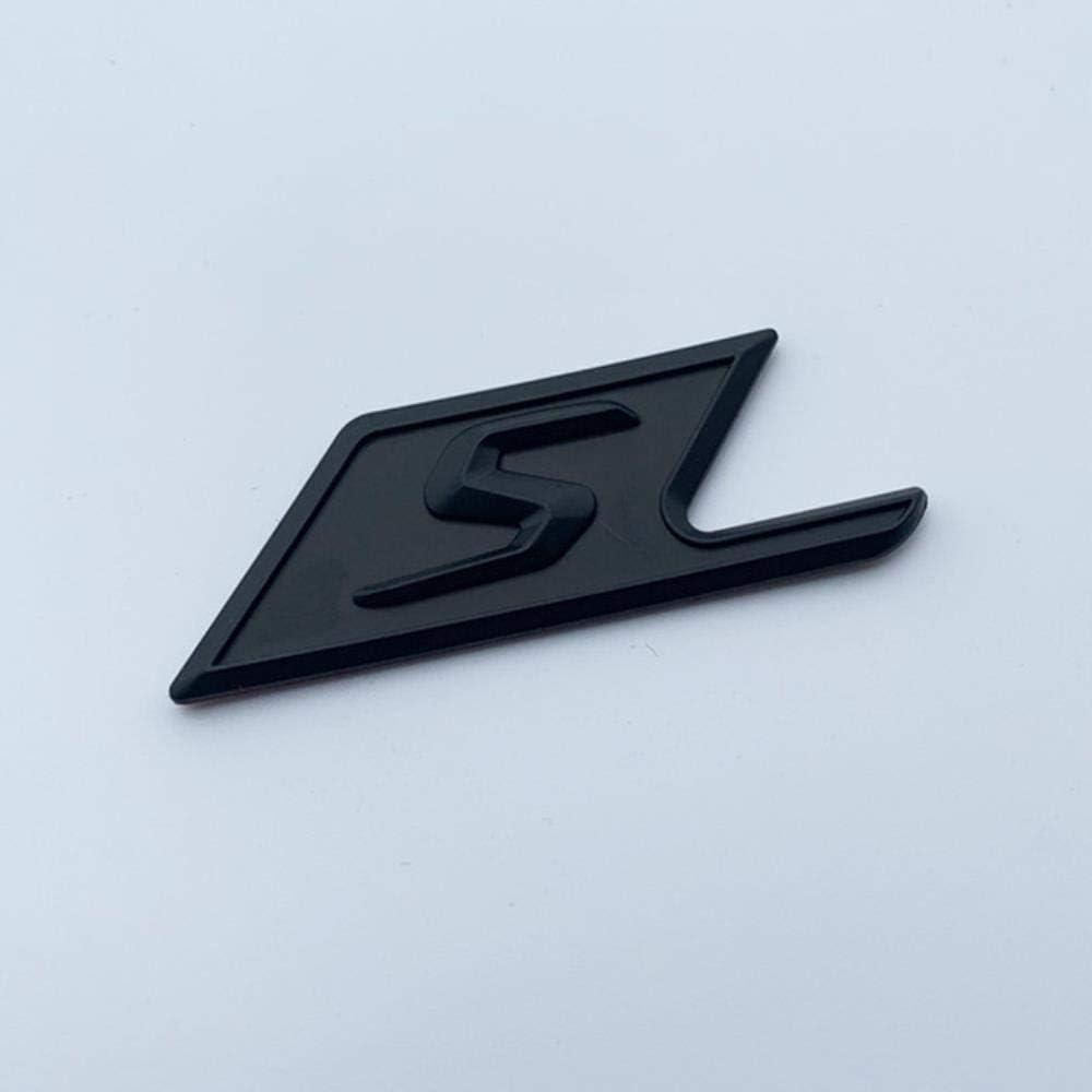 N//R Abzeichen f/ür Mercedes Benz AMG SAMG E63S C63S GLC63S GLE63S Emblem Auto Styling Kofferraum Umbau Aufkleber gl/änzend schwarz rot Silber Mattschwarz S.