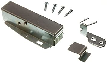Touch Latch Hatch Push With Fixing Screws And Instructions Cabinet And Furniture Latches