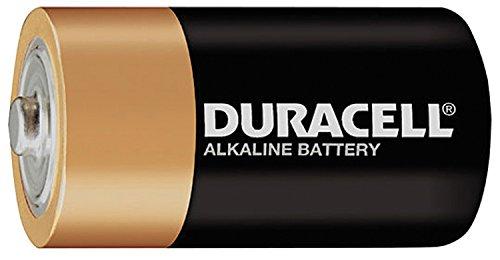 Duracell MN1300 1.5V D CopperTop Batteries, DuraLock Power Preserve Alkaline (12 Pack)