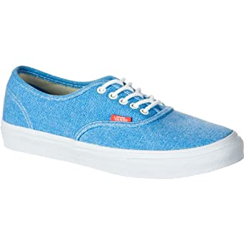 vans authentic slim blue