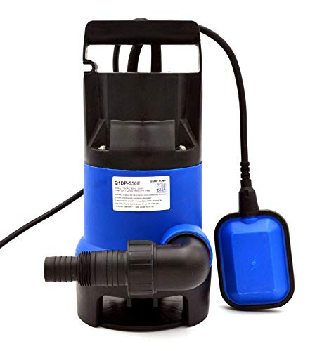 (Submersible Clean/Dirty Water Pump, Great for Outside Swimming Pools, Ponds, or Indoor Basements and Floods | 3/4 HP | Utility)