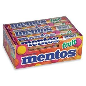 Mentos Fruit Variety - 15/1.32oz rolls (2 Pack)