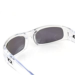 Clear Lake Manatee Sport Polarized Sunglasses Wraparound Frame Mens Womens Youth