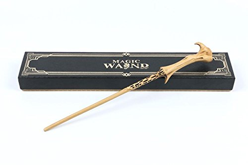 Cultured Customs Magical Wand Replicas - Steel Core Cosplay Prop Collectible + Free Bonus Collectible Trading Card (Dark Lord)