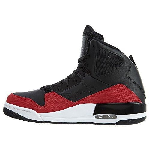 Jordan Nike Mens Sc-3 Basketbalschoenen Zwart / Gym Rood-wit