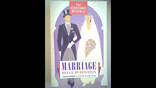 The Oxford Book of Marriage (Oxford paperbacks) by Oxford University Press