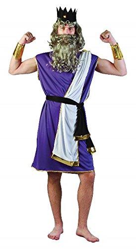 Purple Men's King Neptune Costume (Neptune Costume)