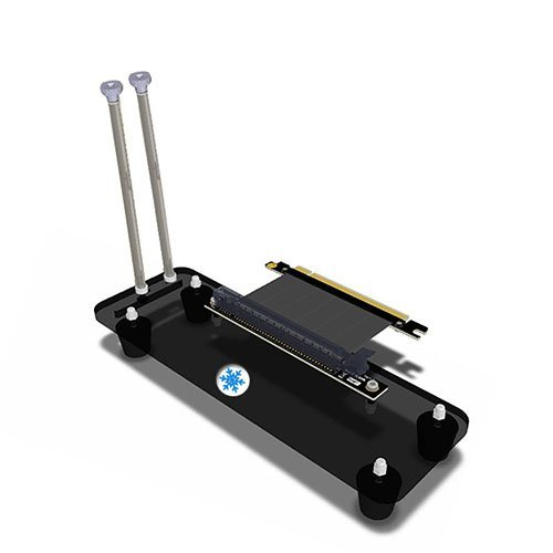 (PCI- E 3.0 16X Graphics Card vertical kickstand/base with high speed PCI-E extension cable for DIY ATX case)
