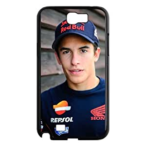 Samsung Galaxy Note 2 N7100 Phone Case Black Marc Marquez BFG101697