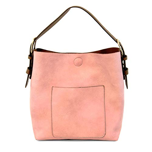 (Joy Susan Classic Hobo Handbag (Pink Lemonade Coffee Handle))