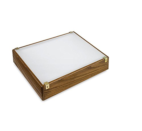 Gagne Walnut Lp Light Box 12X14 Led by Gagne