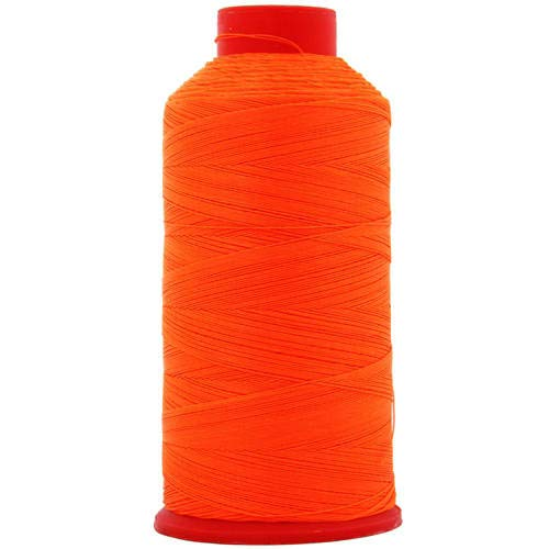 Threadart Neon Colors Heavy Duty Bonded Nylon Thread - 1650 Yards (1500m) - #69 T70 Size 210D/3 Coated - for Upholstery, Leather, Vinyl, and Other Heavy Fabric - 6 Colors ()