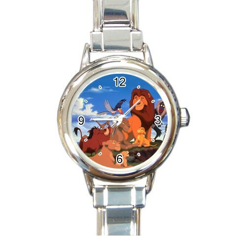 lion-king-v1 Italian Charm Watch ( For Women - Lion Italian Charm