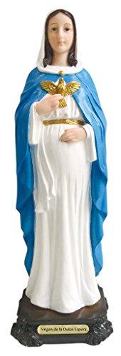 Love s Gift Nuestra Se ora Virgen de la Dulce Espera Estatua Virgin Senora Dulce Espera Statue Pregnant Lady 12.5 Inch