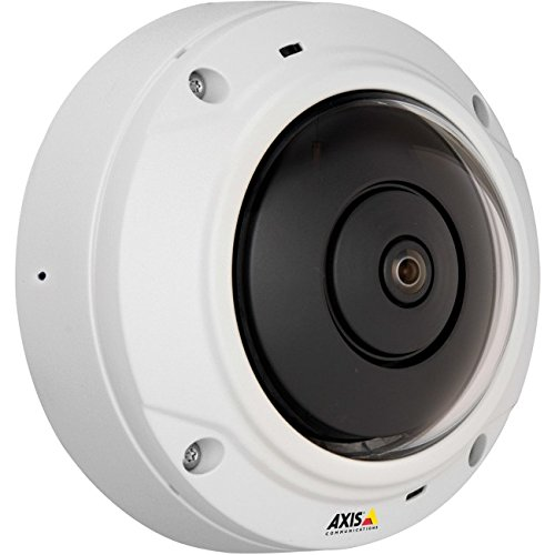 Surveillance Axis Video (Axis Communications 0548-001 M3037-PVE, Network surveillance camera, White)