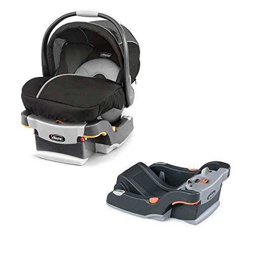Chicco KeyFit 30 Rear Facing Infant Car Seat and Base, Coal & Safety System Base