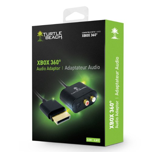 Turtle Beach - Ear Force Xbox 360 Audio Adapter Cable - Xbox 360