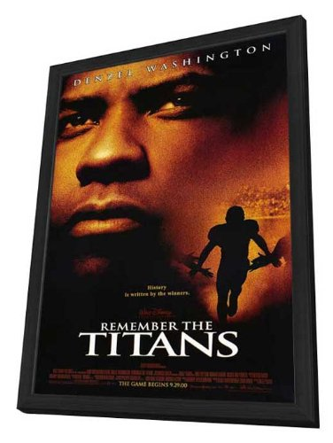 Remember The Titans - 27 x 40 Framed Movie Poster by Movie Posters