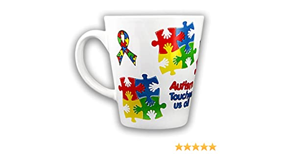 12 Gift MugsPuzzle Mugs Cups Coffee Awareness Autism Pack In Piece Boxeswholesale l1cF35KJuT