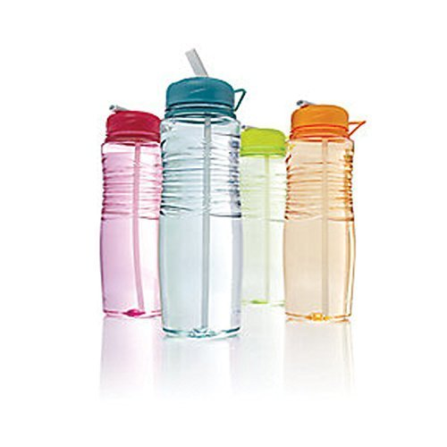 Rubbermaid 7R08 Hydration Beverage Bottle, 30-Ounce, Sip [1 Piece] (Colors May Vary)