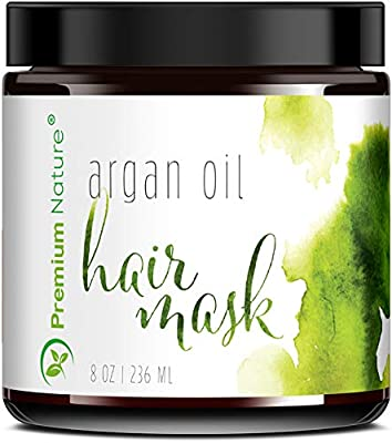 Argan Oil Hair Mask Deep Conditioner 2 Pk- Sulfate Free Conditioning Hair Treatment for Damaged & Dry Hair Repair & Growth All Natural Gentle for Curly & Color Treated Hair Hydrates Packaging May Vary