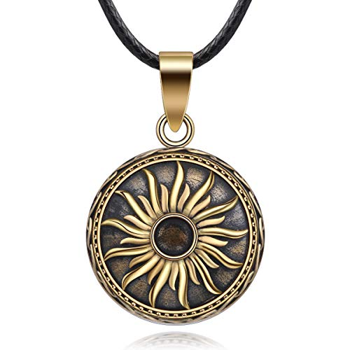 EUDORA Harmony Vintage Style Creative Music Wishing Chime Ball Pendant Necklace for Women Ladies Best Jewellry Original Gift, 45inch