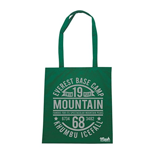 Borsa Everest Base Camp 1968 Mountain - Verde prato - Famosi by Mush Dress Your Style
