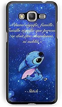 Coque pour Samsung Galaxy Grand Prime Lilo Stitch Tortue Love ...