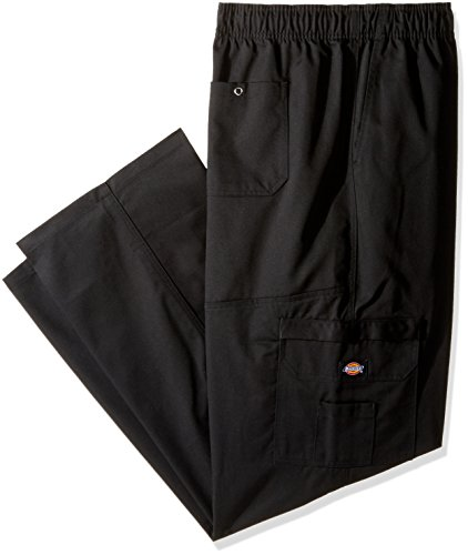 Dickies Chef Cargo Pocket Pant, Black, XXX-Large by Dickies