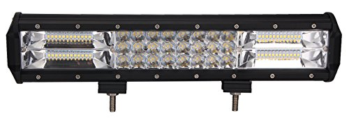 led light bar 19inch 216w triple row