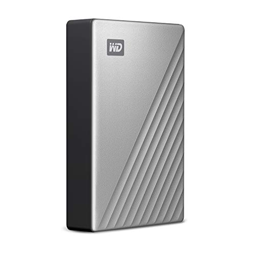 WD 4TB My Passport Ultra for Mac Silver Portable External Hard Drive, USB-C - WDBPMV0040BSL-WESN by Western Digital (Image #2)