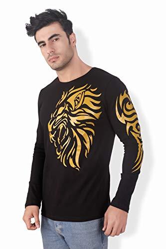 black t shirt for mens