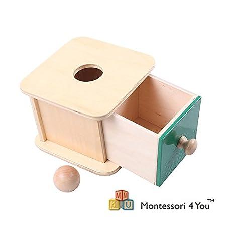 Materiale Montessori, Scatola dell'infilare -palla-