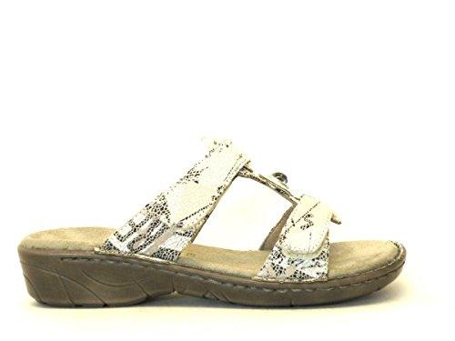 Bianco Codice Ara Shoes Korsika Donna 42 Jenny Modello Ciabatta 57268 Brand xqzU7Rwxp