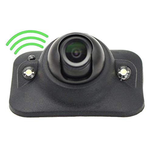 Car HD Blind Spot Side View Camera, Reverse Camera, Front/Side View Camera with Auto-dimming LEDs, NO Drilling, Mirror/Non-Mirror Image Adjustable Easy Installation