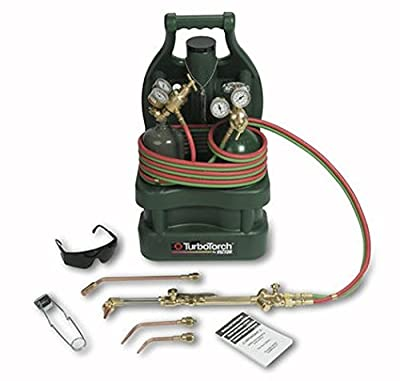 Victor TurboTorch 0386-1336 TTV-100-CPT Tote Kit, Oxy-Acetylene, with Tanks