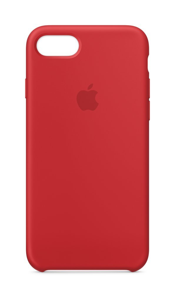 Apple iPhone 8/7 Silicone Case - (PRODUCT) RED