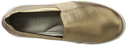 Aerosoles Women's Board Ship Miami Gold Loafers Gold (Gold) YN0ffpY